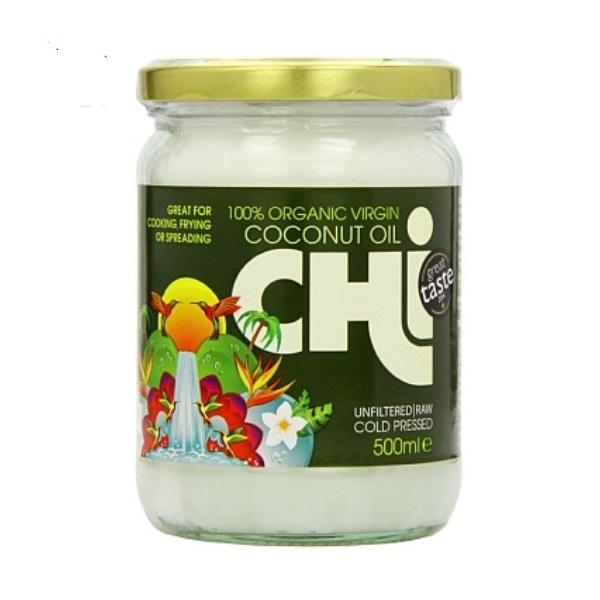 Organsko devičansko kokosovo ulje Chi 500ml