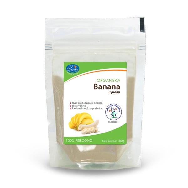 Banana u prahu organic Beyond 100g