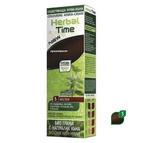 Herbal Time Kana u gelu kesten 75ml