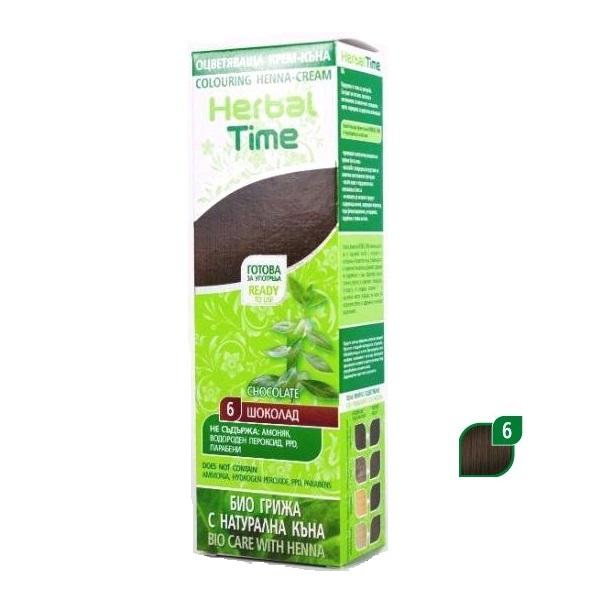Herbal Time Kana u gelu 6 čokolada 75ml