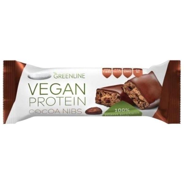 Vegan protein bar Cocoa&nibs  Greenline 40g