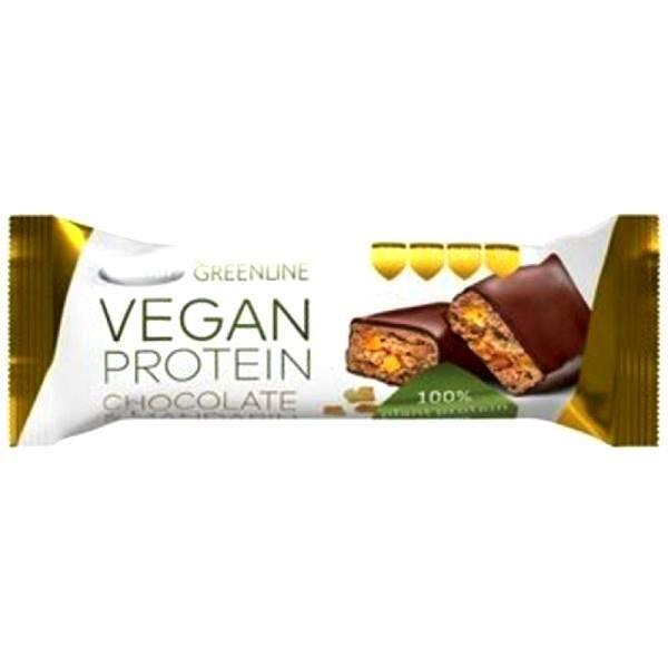 Vegan protein bar čokolada &mandarina  Greenline 40g