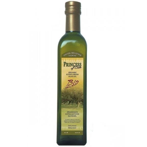 Ekstra devičansko maslinovo ulje organic Princess 750ml