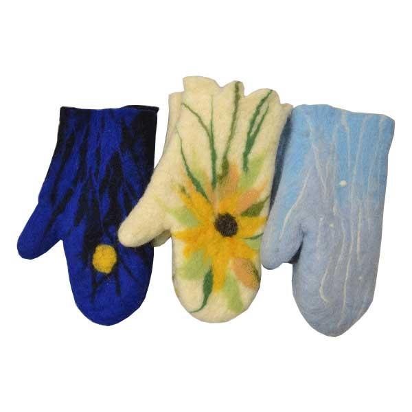 Rukavice sa prstom pustovana vuna