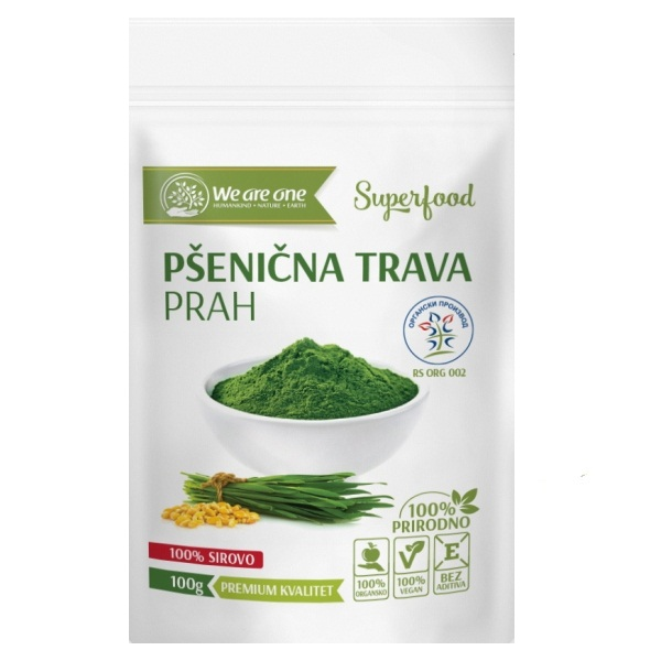 Pšenična trava organic We are one 100g