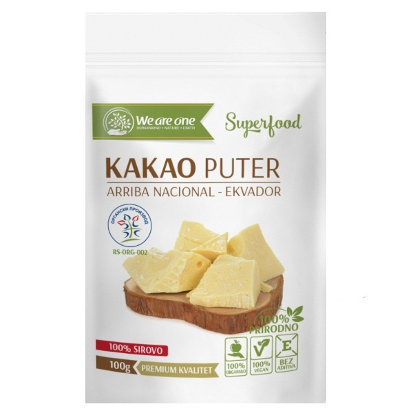 Kakao puter organic We are one 100g