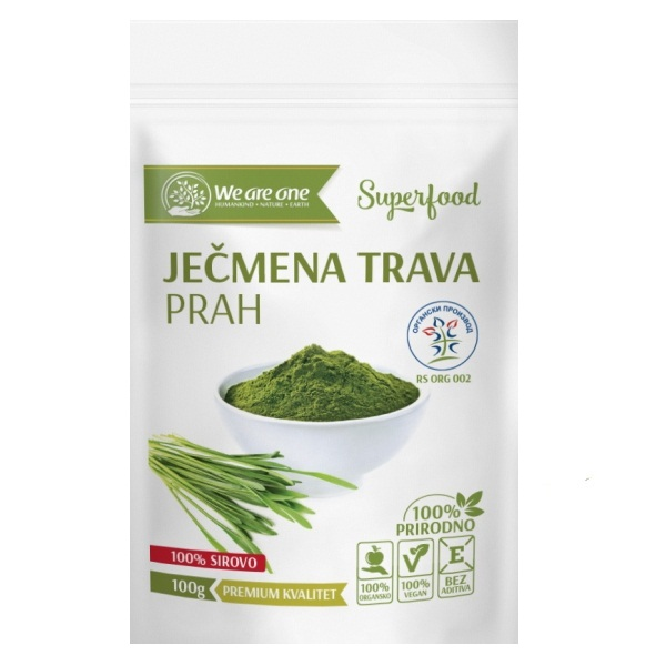 Ječmena trava organic We are one 100g