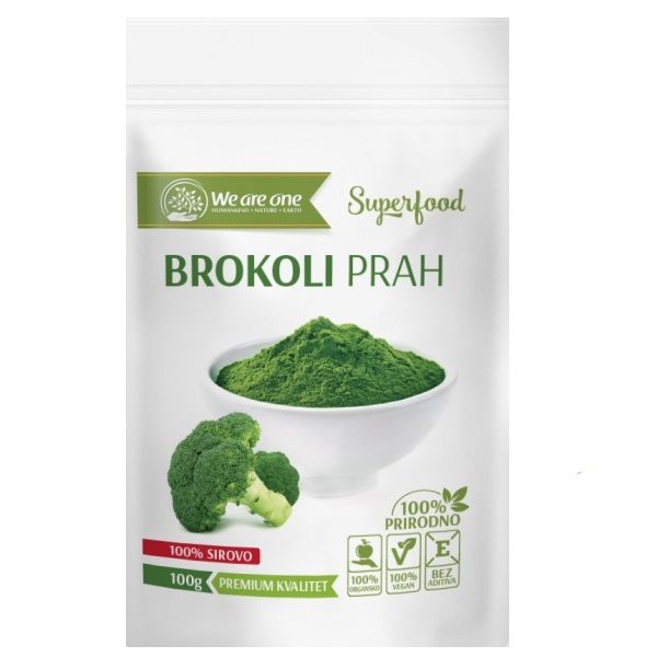 Brokoli prah organic We are one 100g