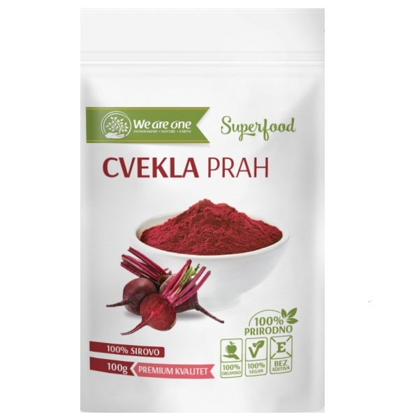 Cvekla prah organic We are one 100g