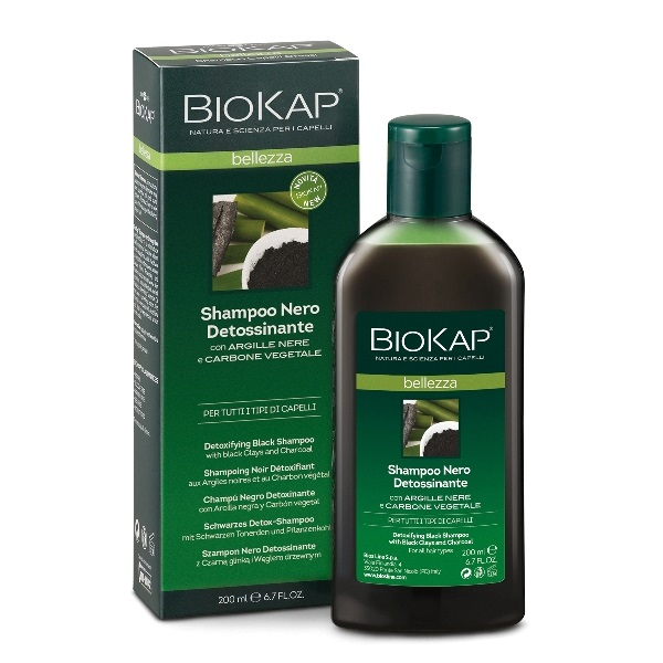 Biokap šampon crni za detoksikaciju 200ml