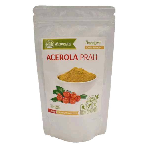 Acerola prah organic We are one 100g