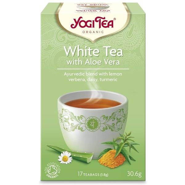 Beli čaj sa alojom organic Yogi Tea 30,6g