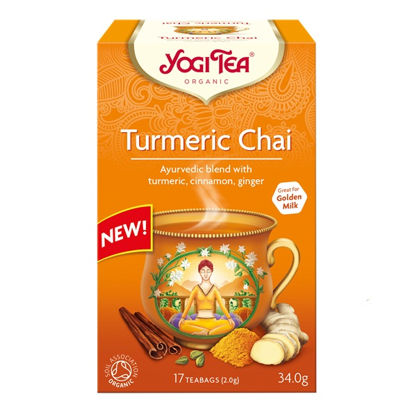 Kurkuma čaj organic Yogi Tea 34g