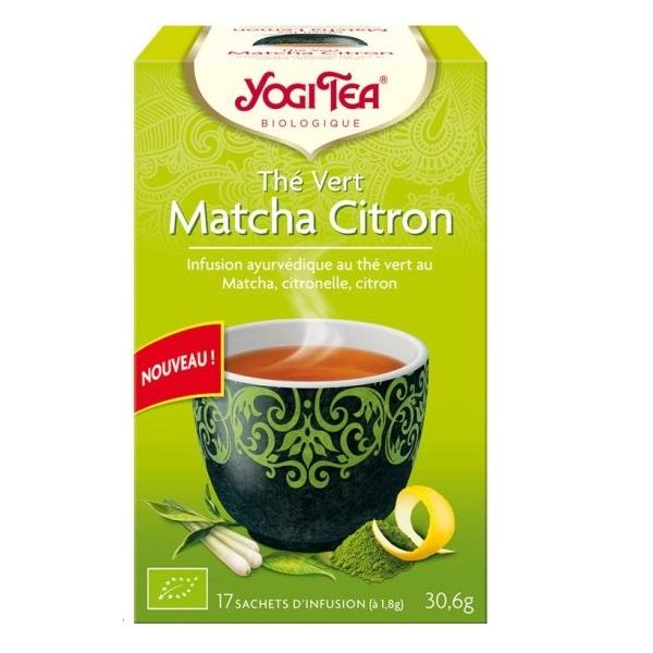 Zeleni Mača čaj sa limunom organic Yogi Tea 30,6g