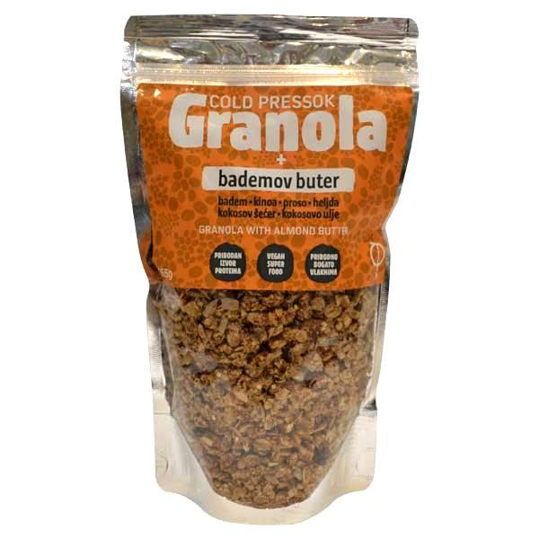 Granola badem puter Cold Pressok 260g