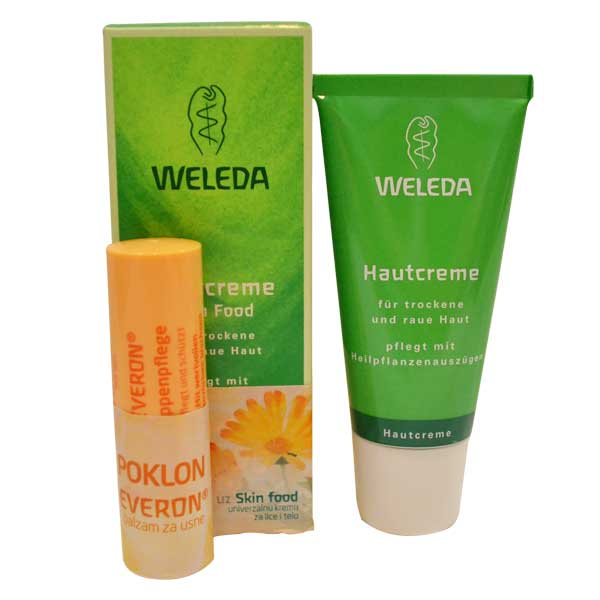 Weleda Poklon set Skin food 30ml+Weleda Everon Lip Balm 4,8g