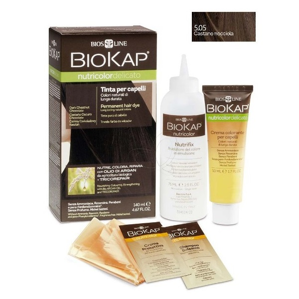 BioKap Delicato Farba za kosu 5.05 kesten-svetlo braon 140ml
