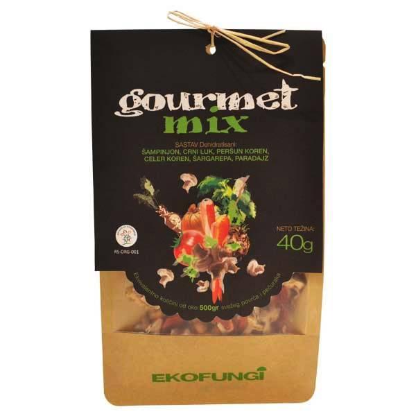 Gourmet mix - mix pečurki i povrća organic Ekofungi 40g
