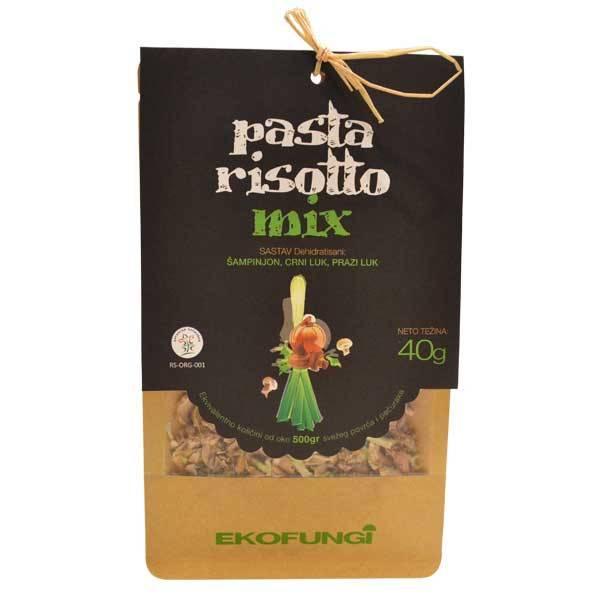 Pasta risotto mix - mix pečurki i povrća organic Ekofungi 40g
