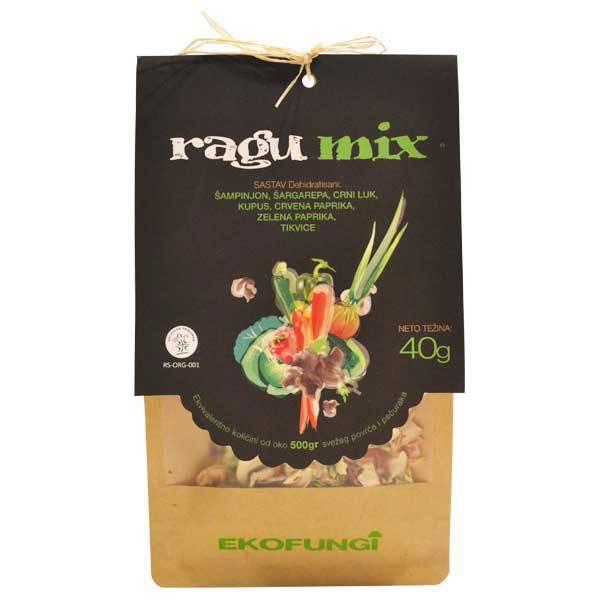 Ragu mix - mix pečurki i povrća organic Ekofungi 40g