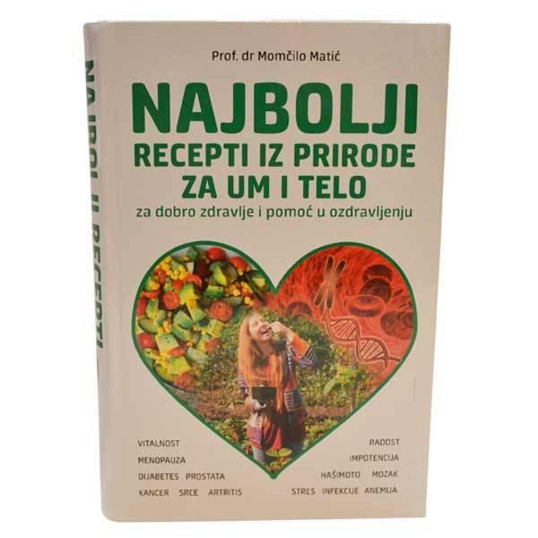Najbolji recepti iz prirode za um i telo Prof. DR. Momčilo Matić