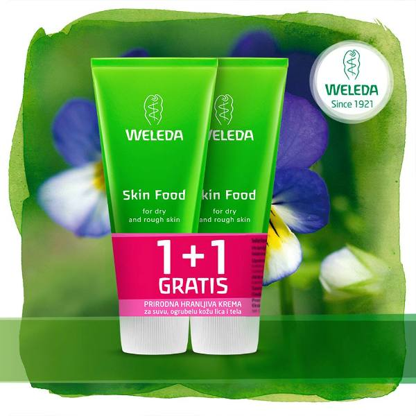 Weleda Skin Food krema 30ml 1+1 gratis