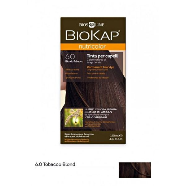 BioKap Farba za kosu 6.0 duvan plava 140ml