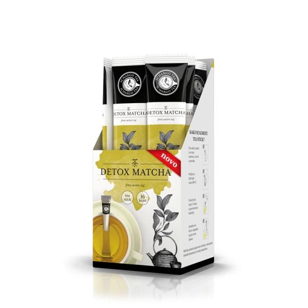 Tea stick Detox Matcha 2g - 1kesica