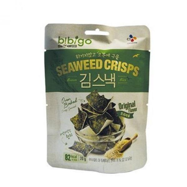 Snek od pirinča i morskih algi Bibigo 20g