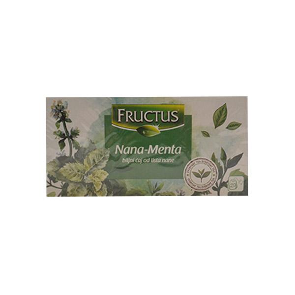Fructus Filter Čaj Nana 20g