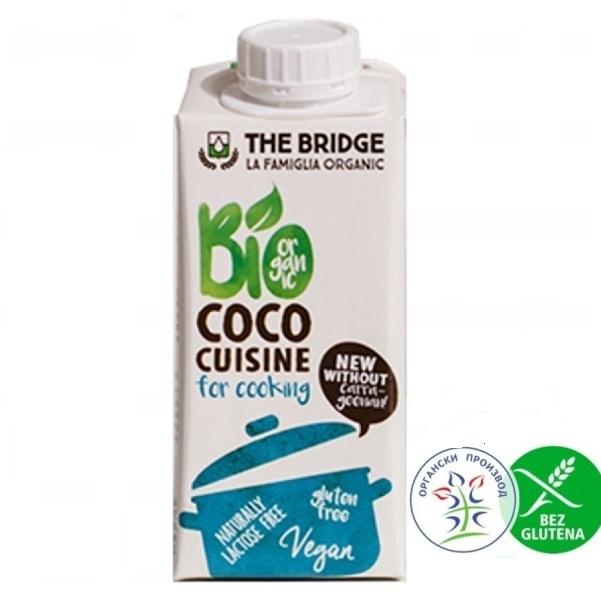 Organski kokos krem za kuvanje 200ml