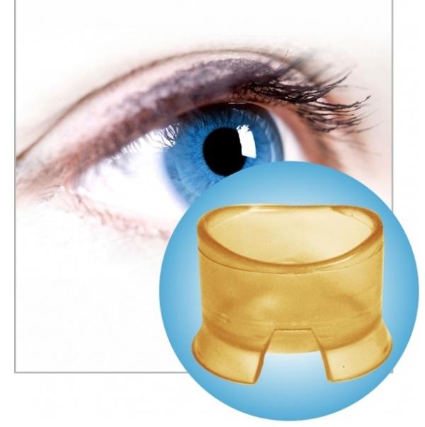 Vakuumna ventuza (čašica) za masažu očiju i ispiranje oka 1 kom