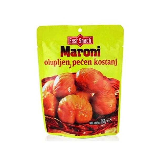 Kesten očišćen i pečen Maroni 150g
