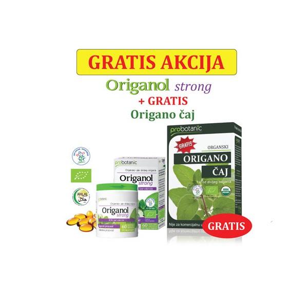 Origanol strong  60 soft gel kapsula + GRATIS origano čaj 10g