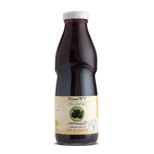 Matični sok od divlje kupine organic 500ml