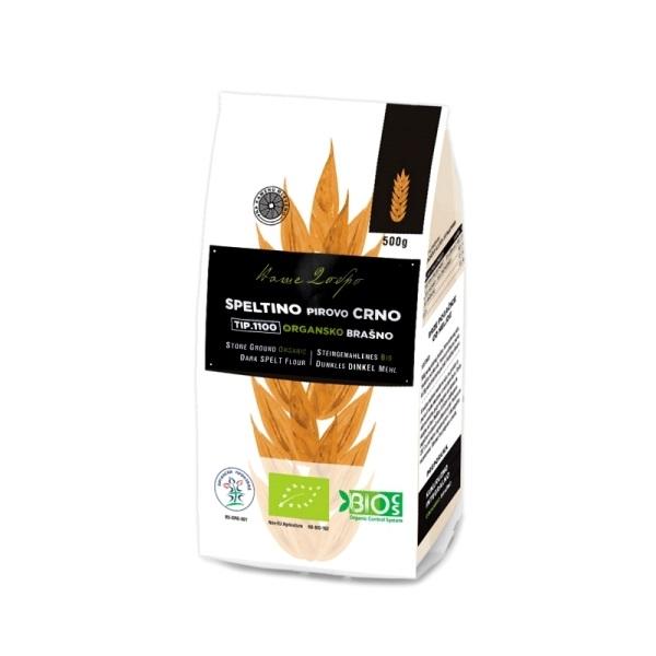 Speltino crno organsko brašno tip 1100 Naše Dobro 500g