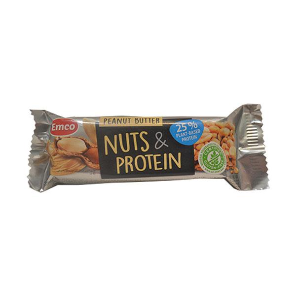 Proteinski bar kikiriki i kikiriki puter Emco 40g
