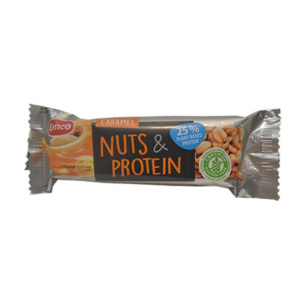Proteinski bar karamel Emco 40g