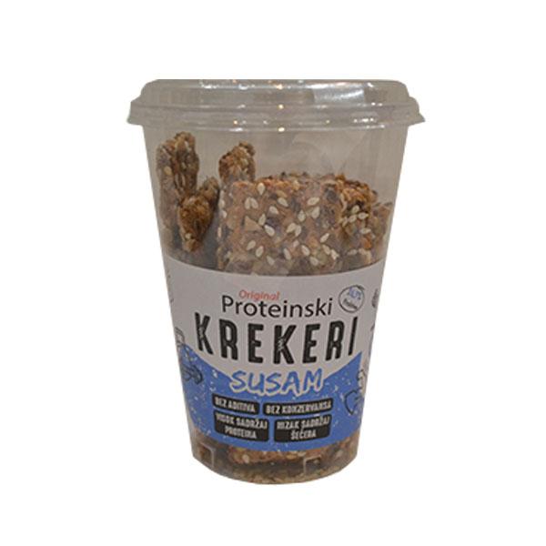 Proteinski kreker susam Original 100g