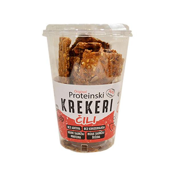 Proteinski kreker čili Original 100g