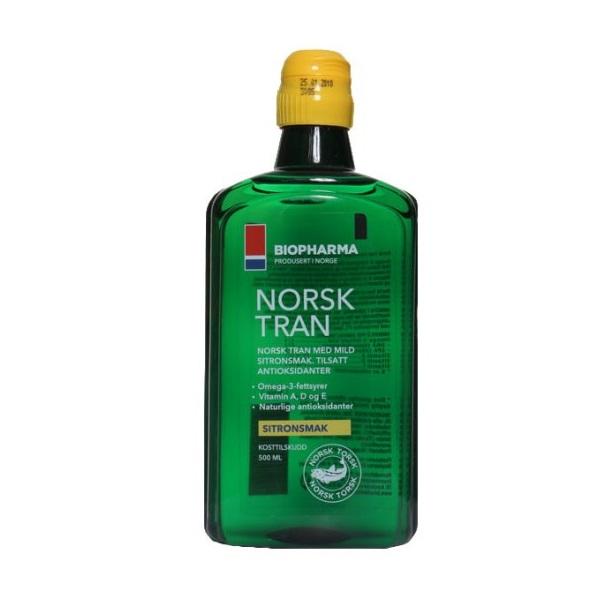 Norveško omega-3 ulje za celu porodicu 500ml