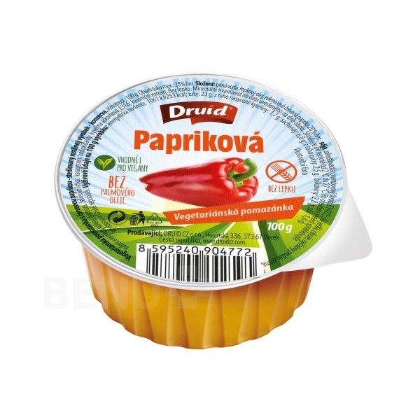 Vegeterijanski namaz sa paprikom bez glutena 100g