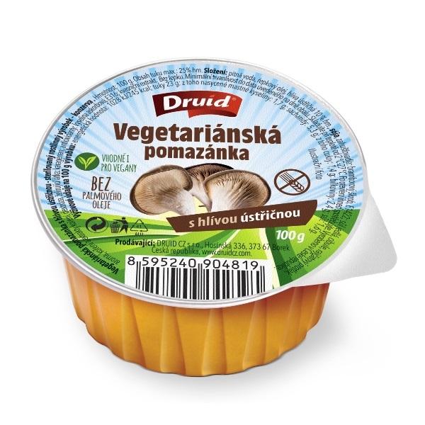 Vegeterijanski namaz sa pečurkama bez glutena 100g