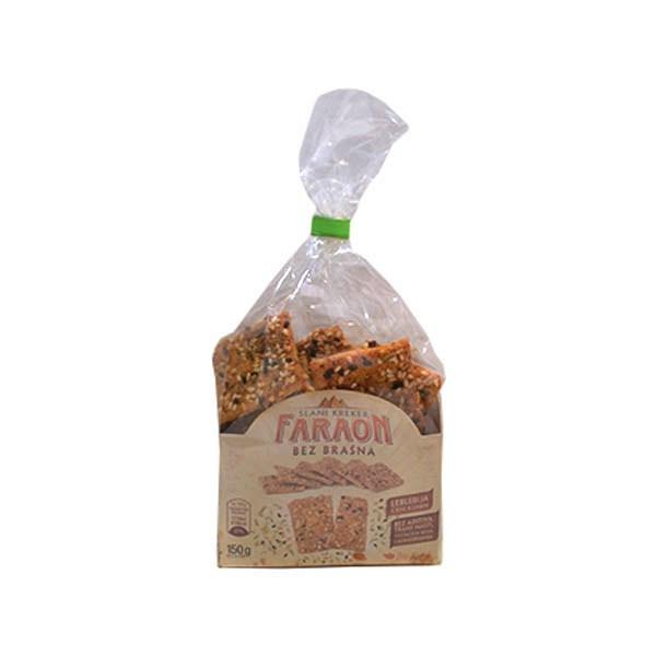 Slani kreker bez brašna Faraon 150g