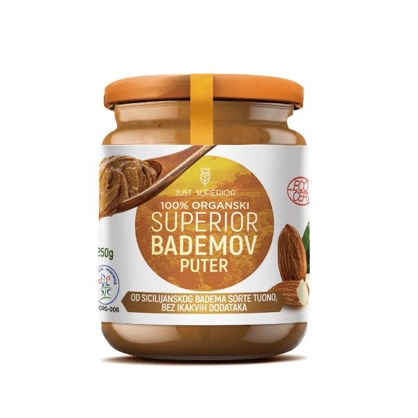 Bademov puter organic Just Superior 250g
