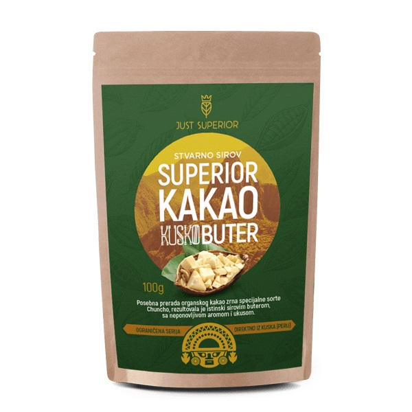 Kakao buter Kusko Just Superior 100g