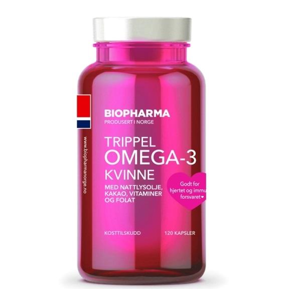Norveške omega - 3 kapsule za žene 120 komada