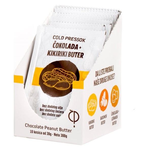 Puter čokolada kikiriki Cold Pressok 30g