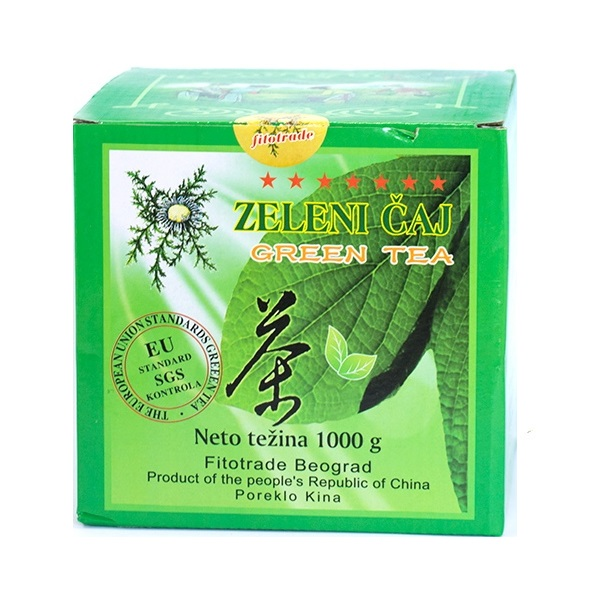 Zeleni čaj rinfuz kg