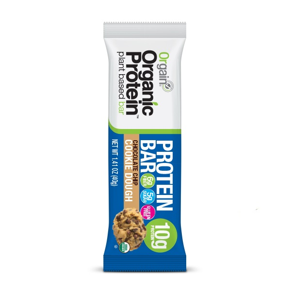 Orgain proteinska pločica kikiriki puter i komadići čokolade organic 40g